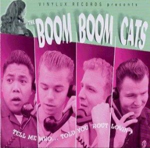 Boom Boom Cats Tell Me Who CD for sale