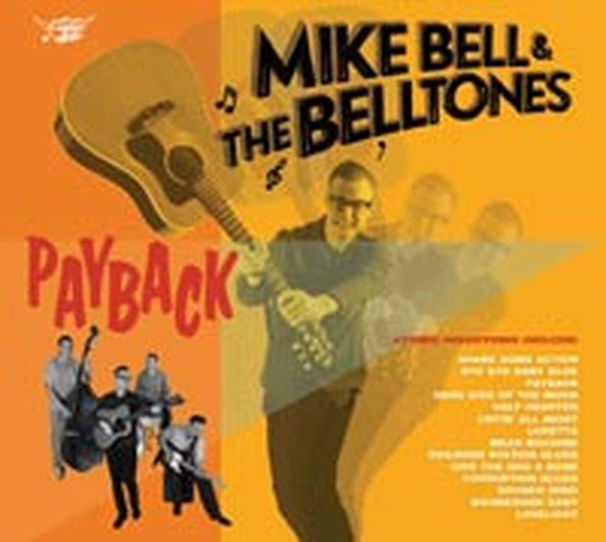 Mike Bell Payback CD for sale